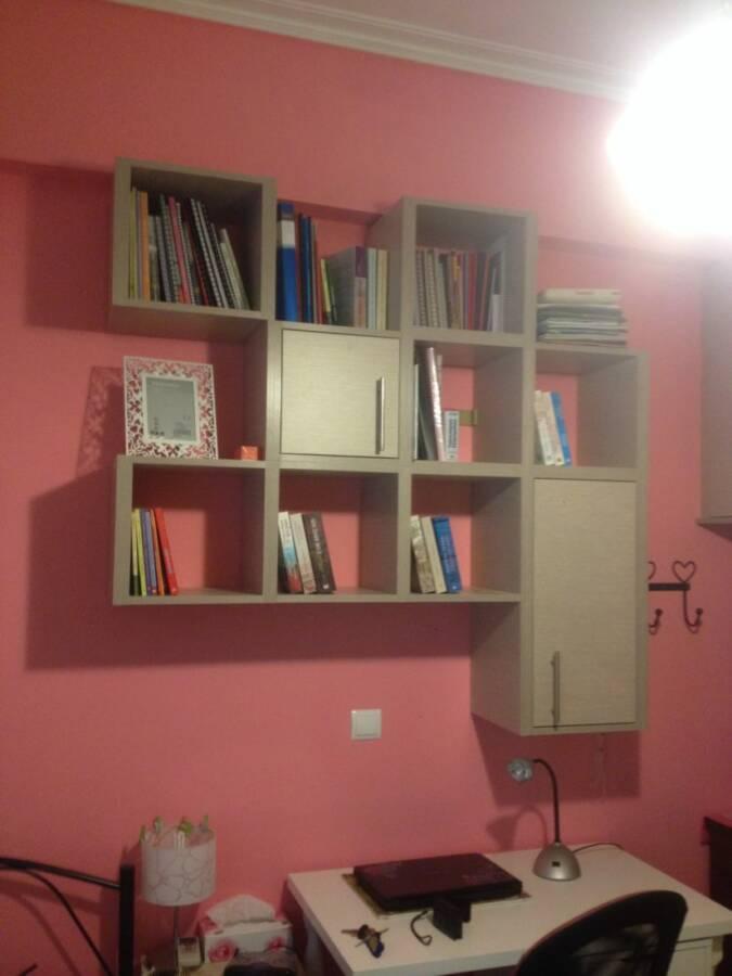 Βιβλιοθηκη παιδικου δωματιου